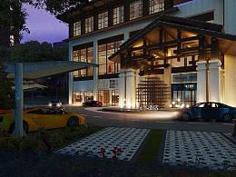 酒店设计案例 开在城市商业中心的酒店怎么完胜民宿