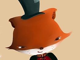 小狐狸系列插画