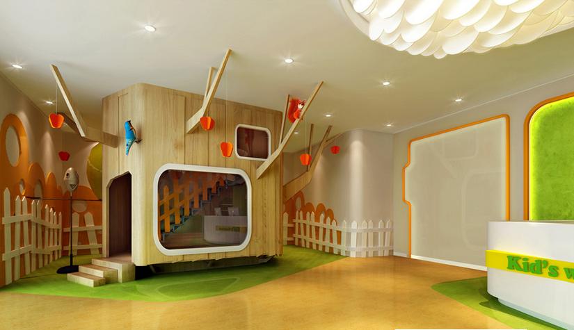 爱乐国际早教中心设计-南宁专业亲子早教中心