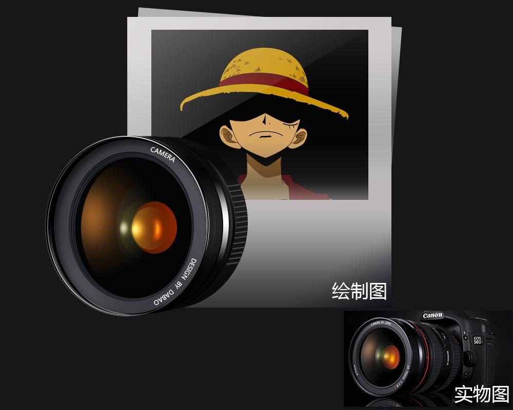 卡通相机怎么画