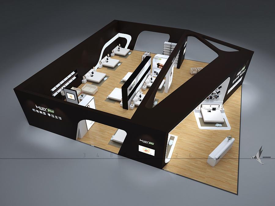 展台设计要求与设计原则以及注意事项图片