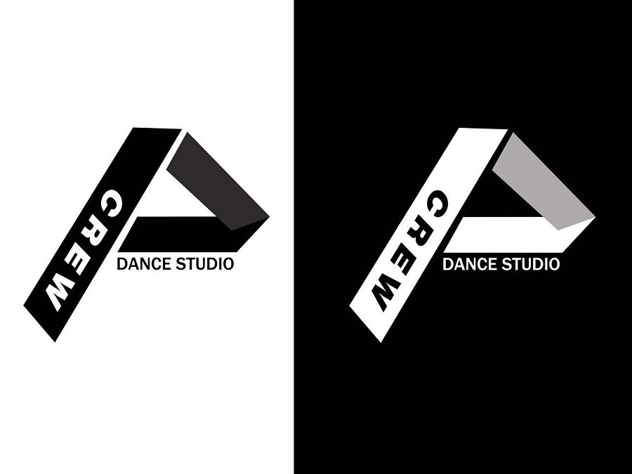 crew街舞工作室logo设计|标志|平面|blackmill
