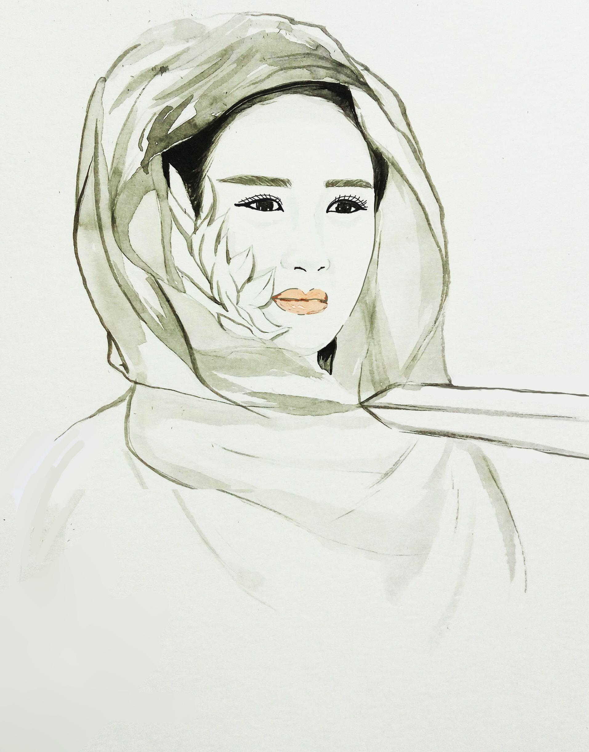手绘 花千骨 赵丽颖