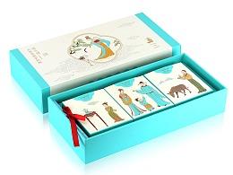 驴姥姥 驴奶粉和驴奶面膜包装设计