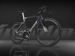 自行车涂装日常设计+渲染练习