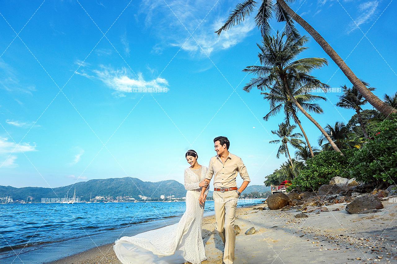 泰国普吉岛婚纱摄影工作室_泰国普吉岛美女