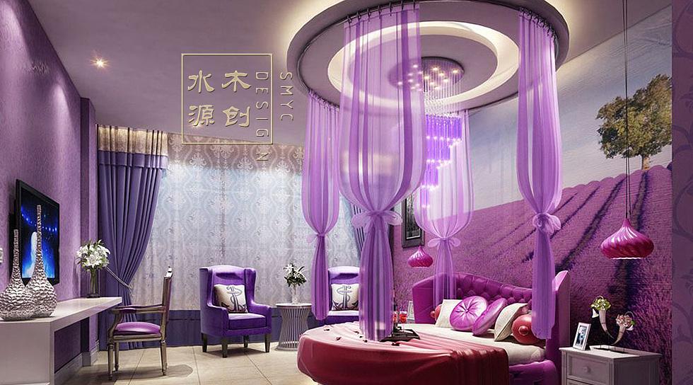 成都主题情侣酒店设计情趣房设计图片