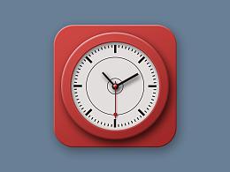 时钟—拟物图标