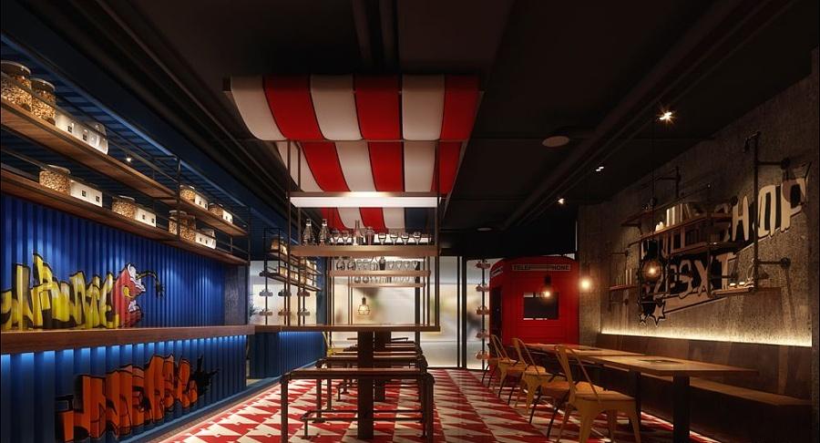 【蜀串串】成都串串店设计公司|成都串串店装修设计|成都串串香餐厅图片