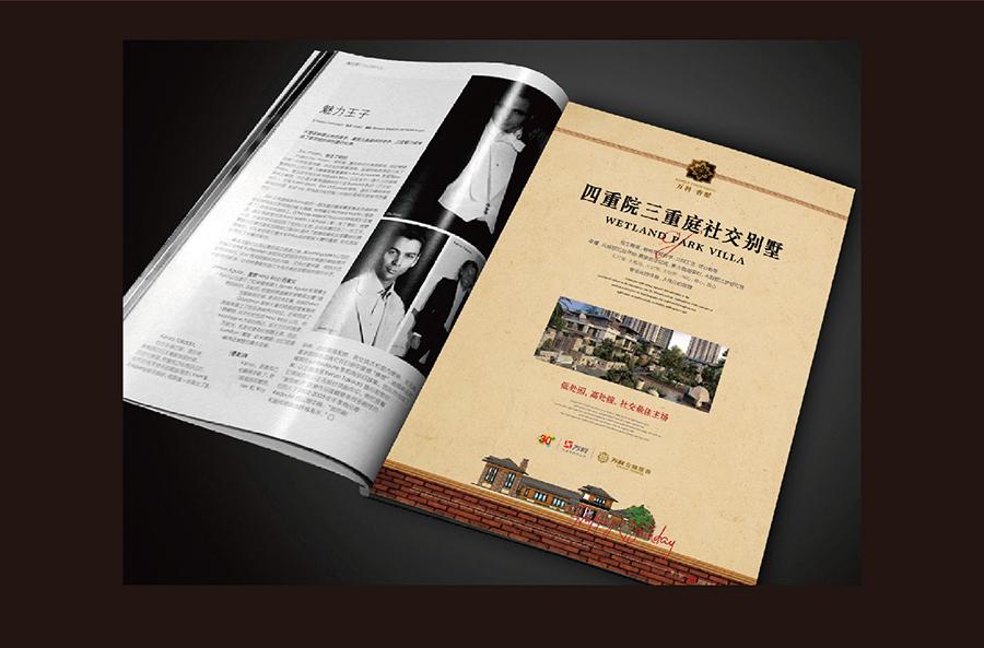 万科地产项目提报-欧式别墅类02|dm/宣传单/平面广告