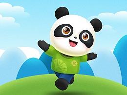 成都万达1号熊猫吉祥物设计