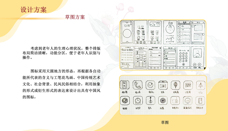 老年人手机界面设计|毕业设计|UI设计室内设计上机面试图片
