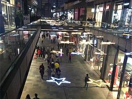 天街户外装饰灯定制铭星厂家制作商业体全品类灯光装置