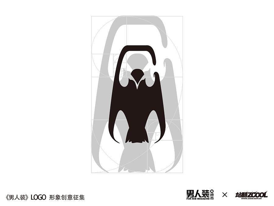 谦道工作室《字体装》标志v字体 阴影 平面 logoarcmap线运绘制男人图片
