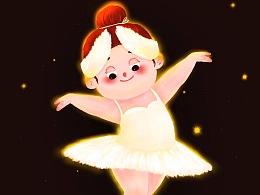 胖胖自己的芭蕾舞团 ②