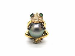 《青蛙》艺术珍珠首饰创作过程欣赏