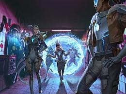 【英雄联盟】未来战士们的穿越之旅