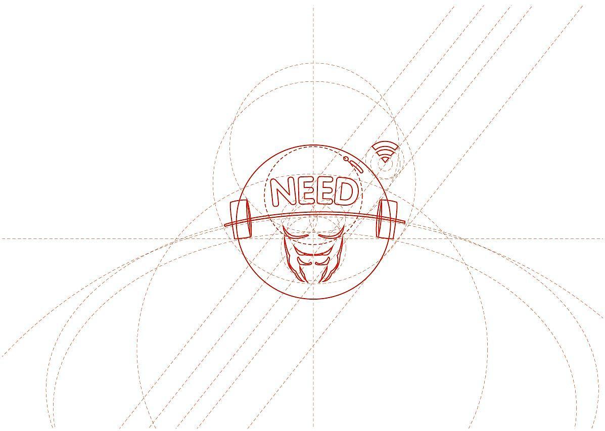 健身logo设计