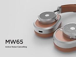 M&D丨MW65耳機-建模渲染