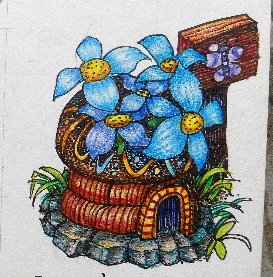 原创作品:彩铅手绘