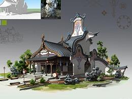 洛克猴(杜震)课范《徽派建筑》