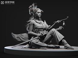 《妖》3D模型作品