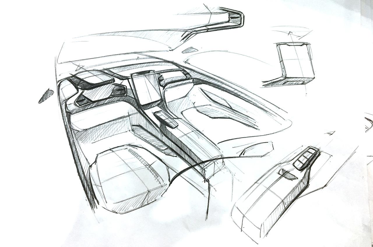 汽车手绘|工业/产品|交通工具|pengxu327306579