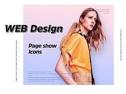 Bearun女装网页设计