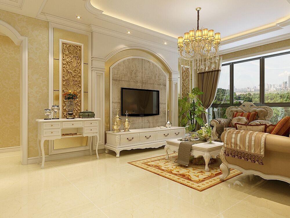 小区名称:润德天悦城 面积:130平米 户型:三室两厅 风格:欧式 咨询热线:87542432 欧式的居室有的不只是豪华大气,更多的是惬意和浪漫。通过完美的典线,精益求精的细节处理,带给家人不尽的舒服触感,实际上和谐是欧式风格的最高境界。