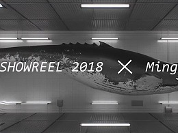 2018showreel of ming