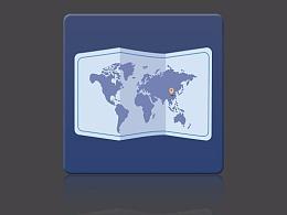 世界地图ICON