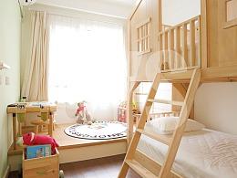 精装房改造-7平方儿童房打造游戏天地