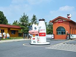 卫岗乳业工厂园区建筑摄影 厂房设备空间拍摄-南京如一商业摄影公司出品