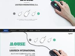 鼠标类的版式设计