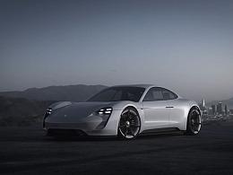 Porsche Mission E Concept 2016