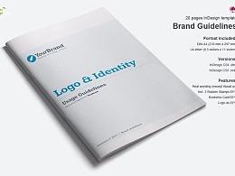 logo品牌使用规范画册模板
