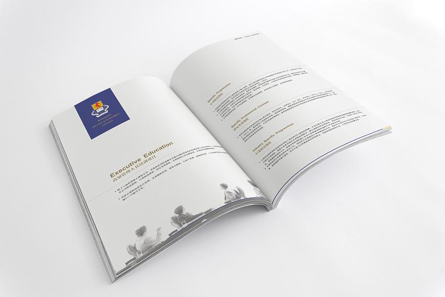 国内v品牌的一本极简品牌的画册设计奥臣家具网址风格图片