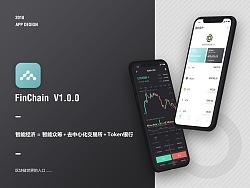 FinChain Block chain UI Design