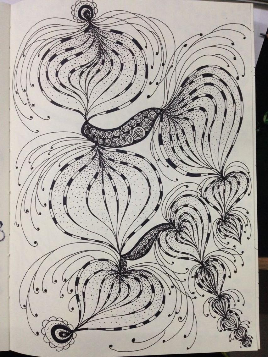 手绘插画 插画 插画习作 细细菌菌菌 - 原创作品