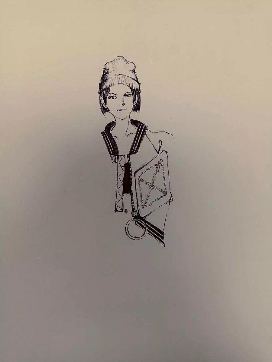 gd权志龙/我的服装手绘|涂鸦/潮流|插画|1010077652