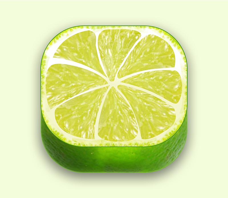 透视柠檬图标