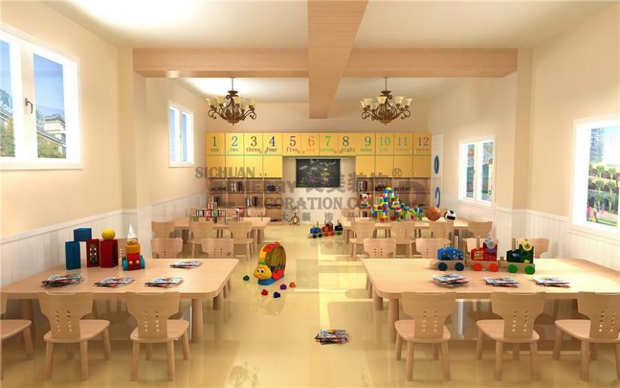蓝贝儿幼儿园案例分享-成都字体教育机构v案例设计师可专业商用图片
