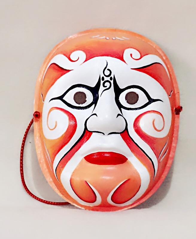 手绘京剧脸谱