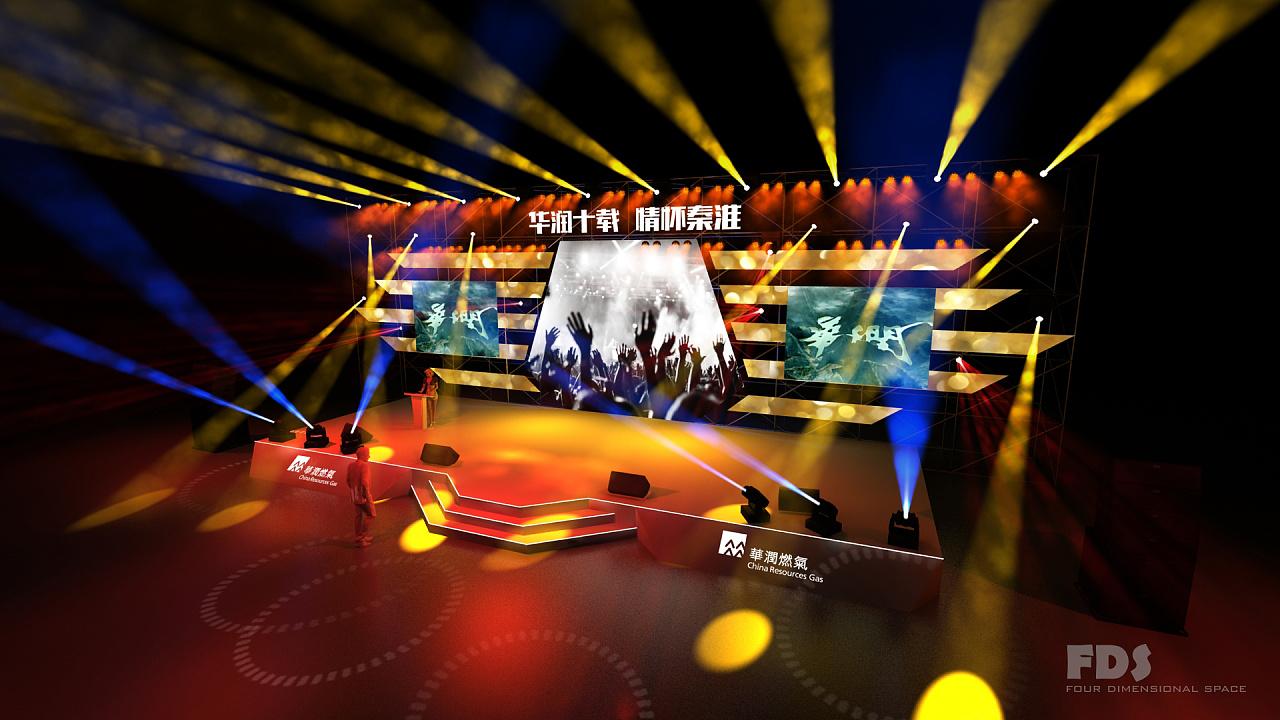 fds舞台视觉设计表现|三维|场景|舞美咖网 - 原创作品图片