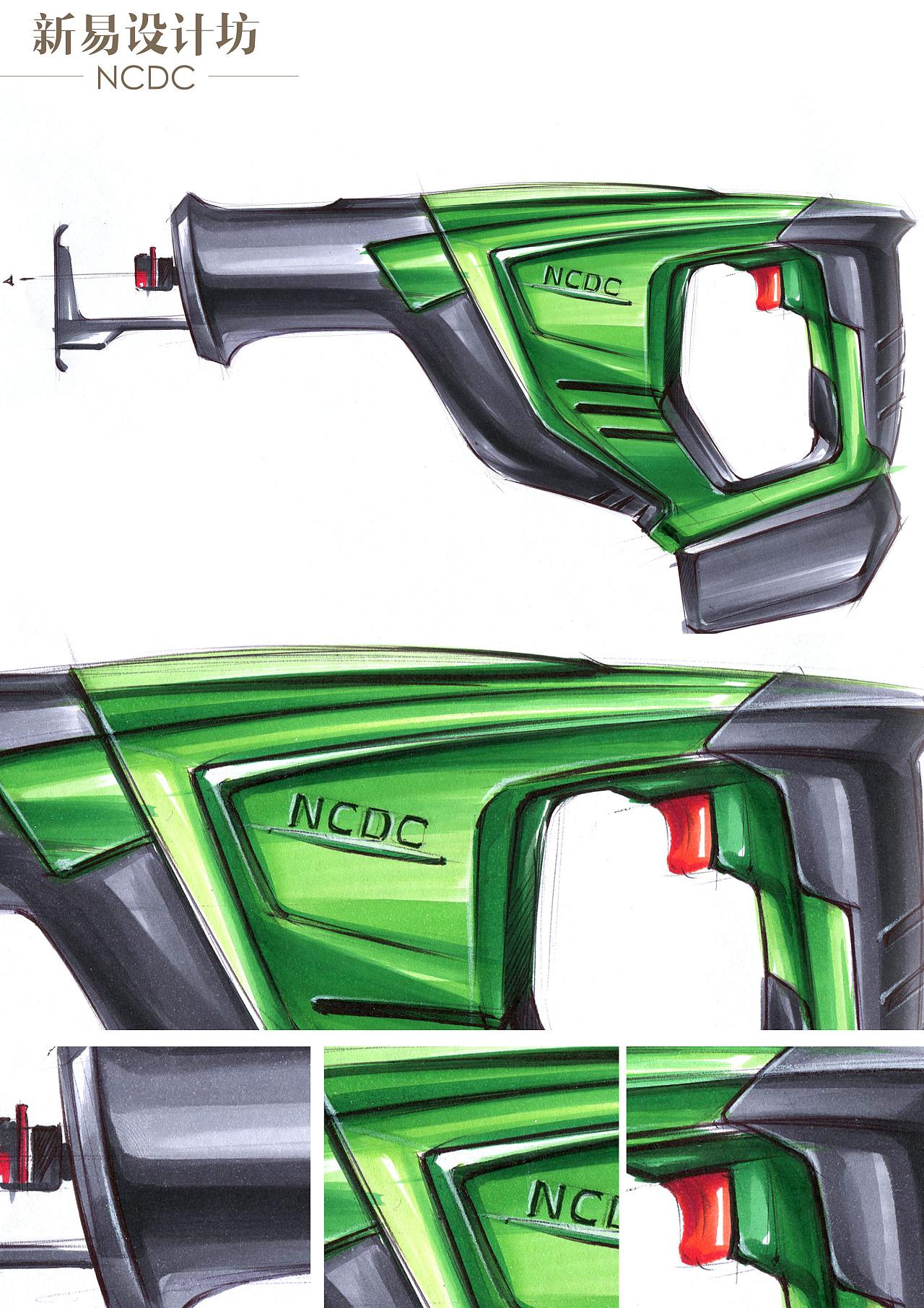 工业设计手绘;工业设计手绘马克笔表达