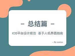iOS平台设计规范-精简总结篇