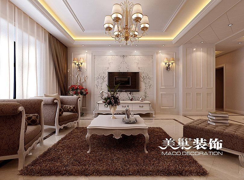 中信嘉苑160平四室两厅简欧装修案例图片