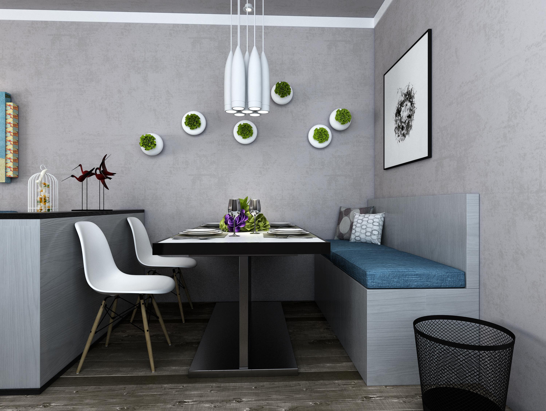 北欧风格|空间|室内设计|沁心莲波 - 原创作品 - 站酷