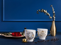 生活罗曼史马克杯设计