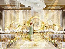 婚礼设计(舞台设计)